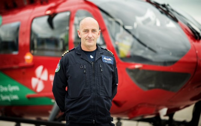 H145 provides air ambulance services to remote communities in Wales