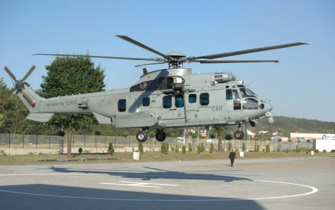 H225M Caracal lands in Poland ahead of MSPO 2016