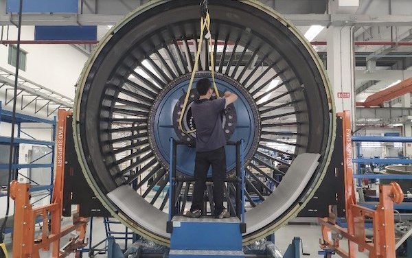 HAECO Composite Services Adds GE90 Fan Case Repair Capability