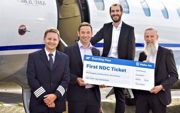 Hahn Air introduces NDC platform and issues first NDC ticket