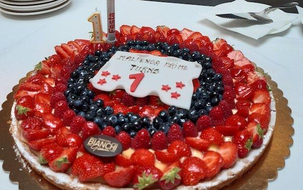 Happy first anniversary - Milano Malpensa Prime