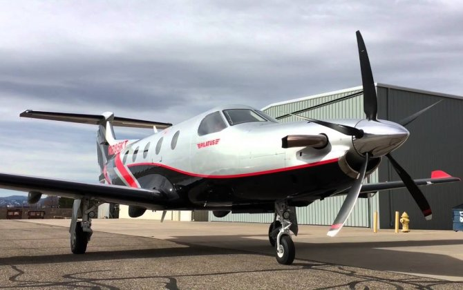 Hartzell five-blade prop specially designed for PC-12 passes 200 milestone