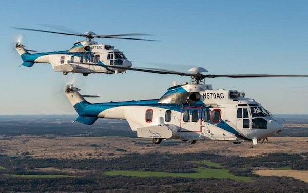 HCare Smart contract for Air Center Helicopters Airbus H225 fleet