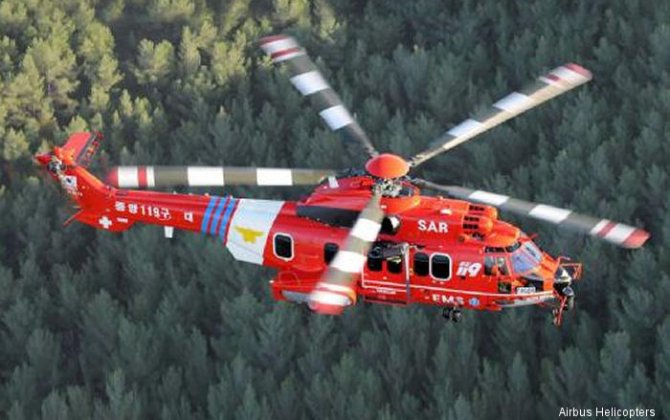 Heli-One completes two H225 inspections for South Korean rescue agency National 119