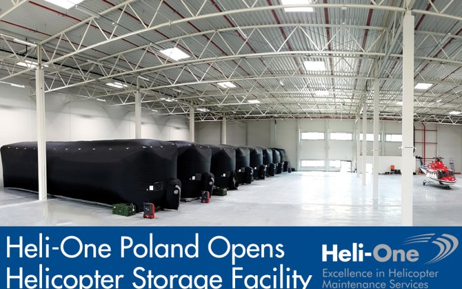 Heli-One Poland opens helicopter storage facility