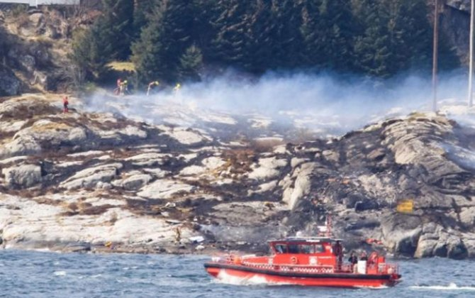 Helicopter Crashes Off Norway, Leaving No Signs of Survivors