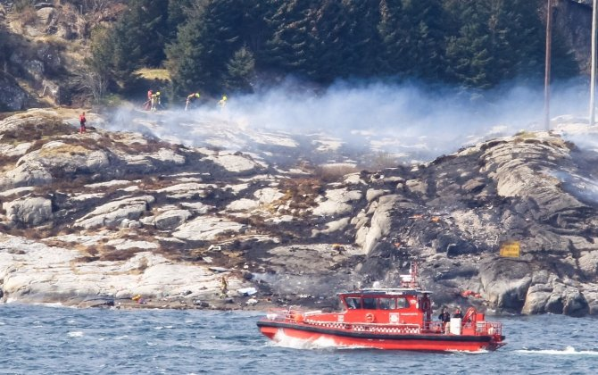 Helicopter had to return to base twice in days before Norway crash