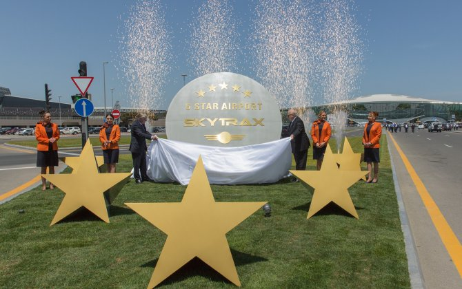 Heydar Aliyev International Airport receives most prestigious award in the world