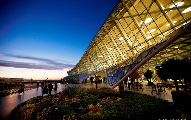 Heydar Aliyev International Airport served over 2.5 million passengers during the first seven months of 2018