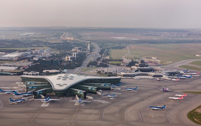 Heydar Aliyev International Airport served over two million passengers during the first six months