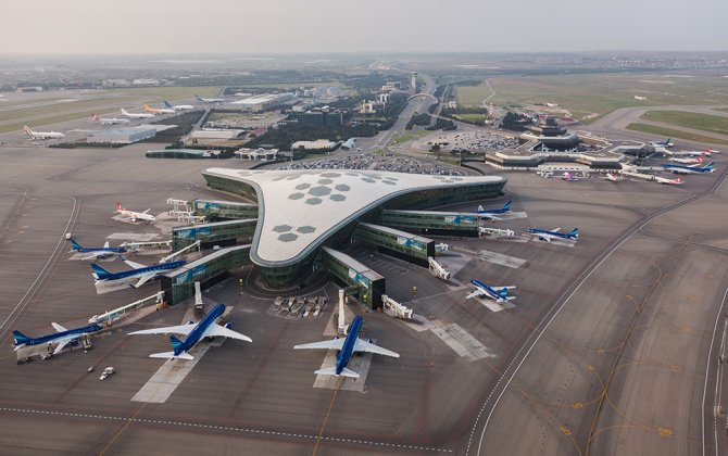 Heydar Aliyev International Airport's passenger flow increased by 15 percent