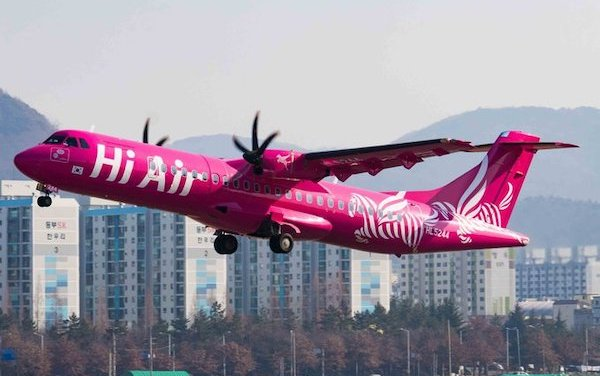 Hi Air to increase Korean regional connectivity with two ATR 72 Aircraft