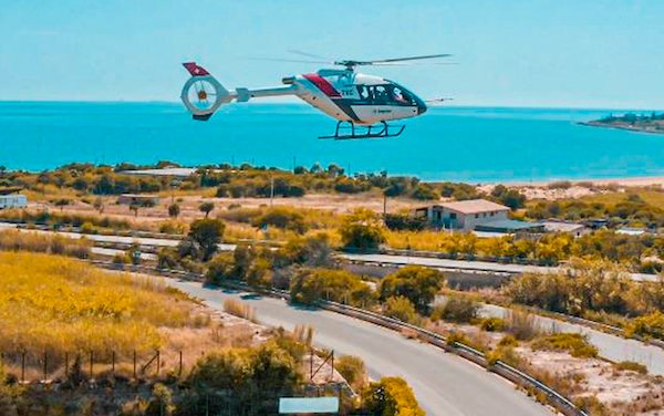 Higher and faster  - Kopter's SH09 third prototype flies in Sicily