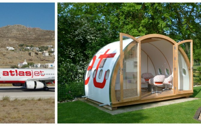 "his Father-Daughter Duo Builds ""Garden Pods"" from Old Airplanes"