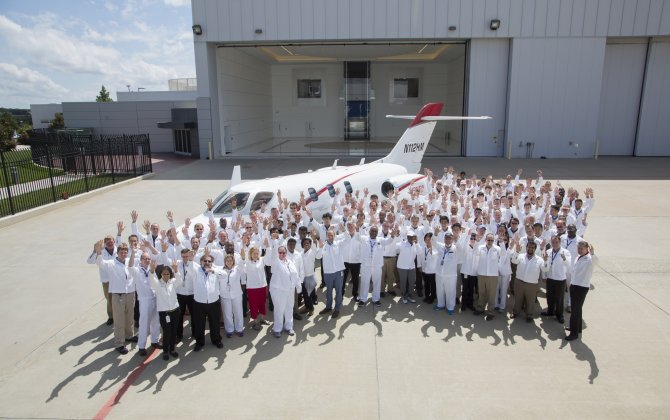 Honda Aircraft Company begins HondaJet Elite deliveries