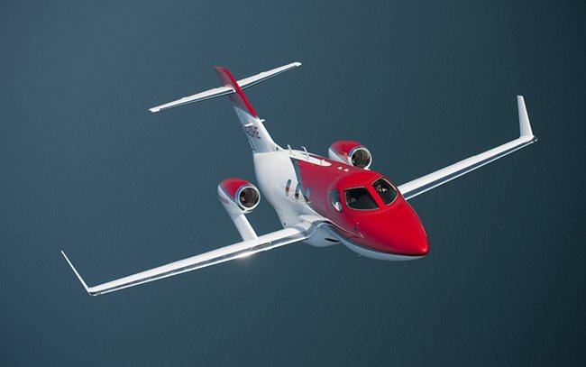Honda plans to produce 80 business jets annually by March 2019