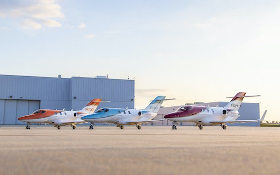 HondaJet deliveries performance are the best in its class since 3 years