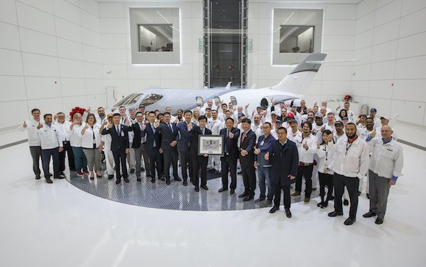 HondaJet Elite deliveries to China has begun