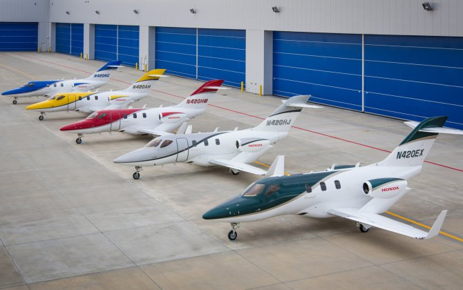 HondaJet ranks as most-delivered jet in its category during first half of 2017