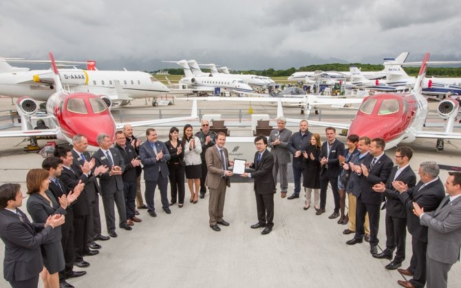 HondaJet Receives Certification Europe