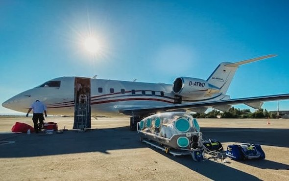 How Air Alliance Medflight transports corona patients all over the world