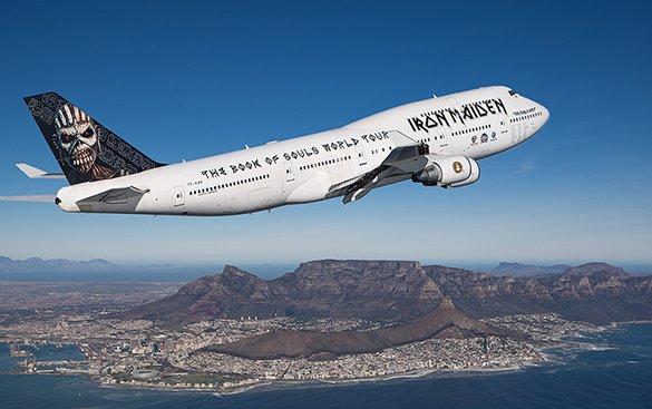 How Iron Maiden Made the Boeing 747 Badass Again