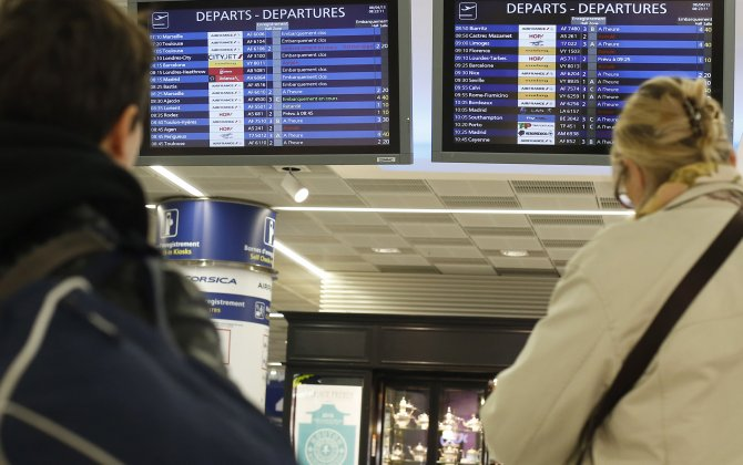 Hundreds of flights at risk during new Air Traffic Control strike in France