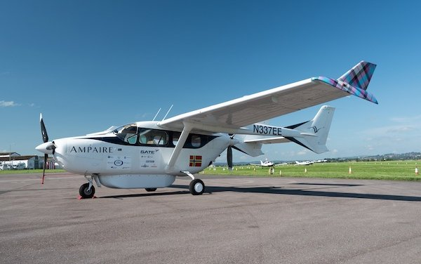 Hybrid Electric Flight comes to South West England with Ampaire