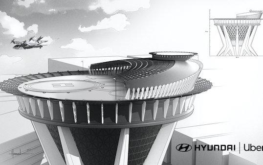 Hyundai Motor and Uber Announce Aerial Ridesharing Partnership