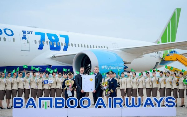 IATA Operational Safety Audit Certificate granted to Bamboo Airways