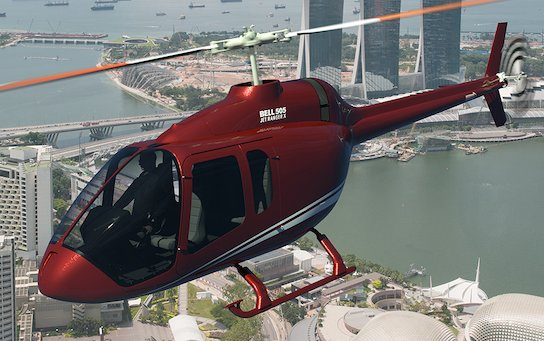 Impressive achievement following 200th delivery - Bell 505 Jet Ranger X Fleet Surpasses 20,000 Flight Hours