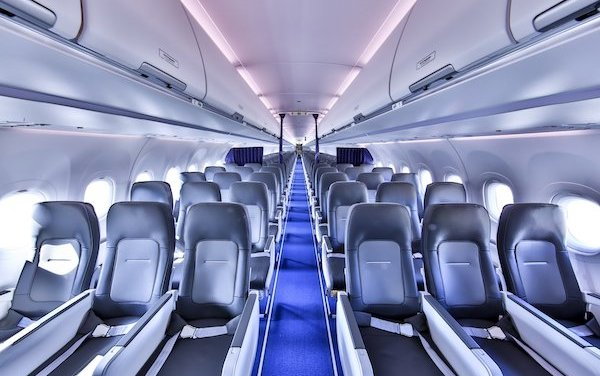 Improved travel experience - Airbus Single-Aisle Airspace cabin enters into service with Lufthansa Group