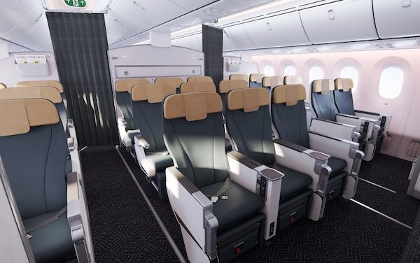 India first Boeing 787-9 for Vistara equipped by Recaro Aircraft Seating
