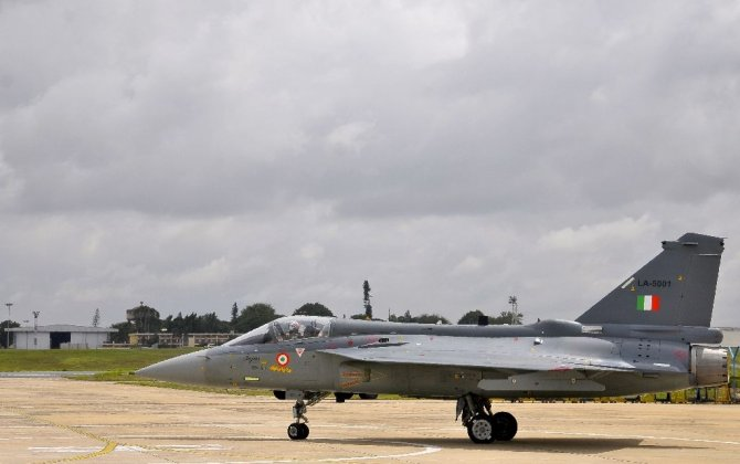 Indian air force adds home-grown fighter jets to fleet