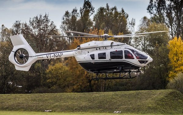 India's first Airbus Corporate Helicopters ACH145 is delivered to Businessman and Philanthropist Adar Poonawalla