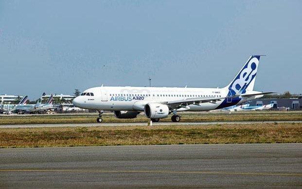 IndiGo receives Asia's first A320neo aircraft