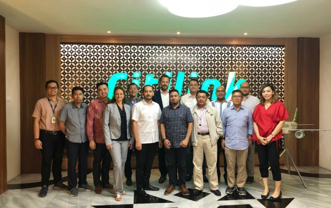 Indonesian airline Citilink signs fleet-wide contract for GX Aviation inflight broadband