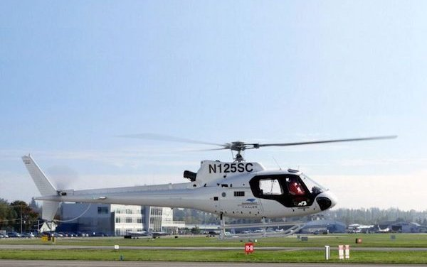 Industry First 4-axis autopilot Flight Test for Airbus AS350 and H125 helicopters