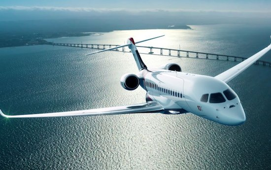Industry largest cabin and most advanced technology on a business jet - Dassault Aviation Falcon 10X