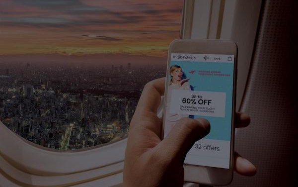 Inflight Shoppertainment  with Air France launched by SKYdeals