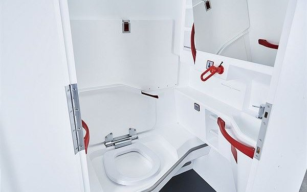 Innovation in aircraft interior equipment  - LAV4ALL by FACC