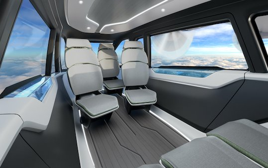 International Design Award granted to an Embraer collaboration  FLEXCRAFT