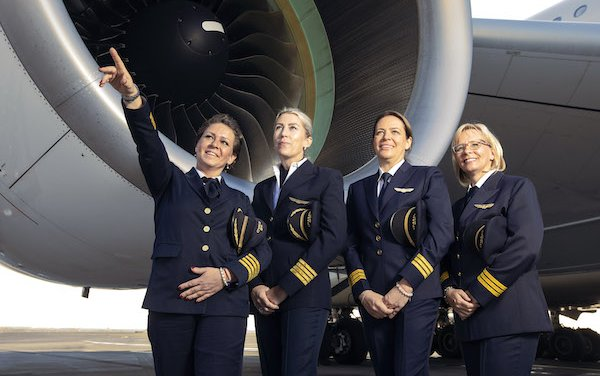 International Women's Day taken to New heights by Etihad Airways All-Female crew
