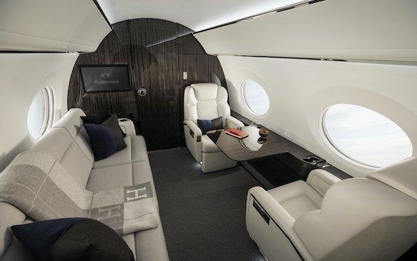 International Yacht & Aviation Award for excellence in cabin design - Gulfstream G500