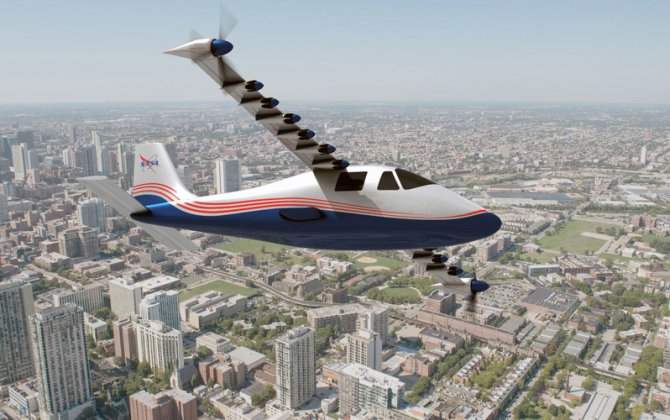 Introducing 'Maxwell': NASA reveals experimental electric X-plane