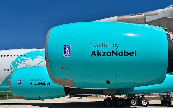 Investment to Strengthen AkzoNobel's Global Position in Aerospace Coatings