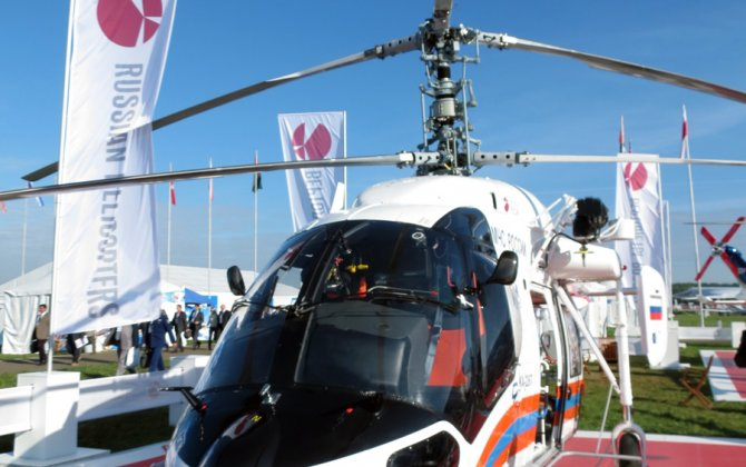 Iran to Build Civil Helicopters in Joint Venture With Russia
