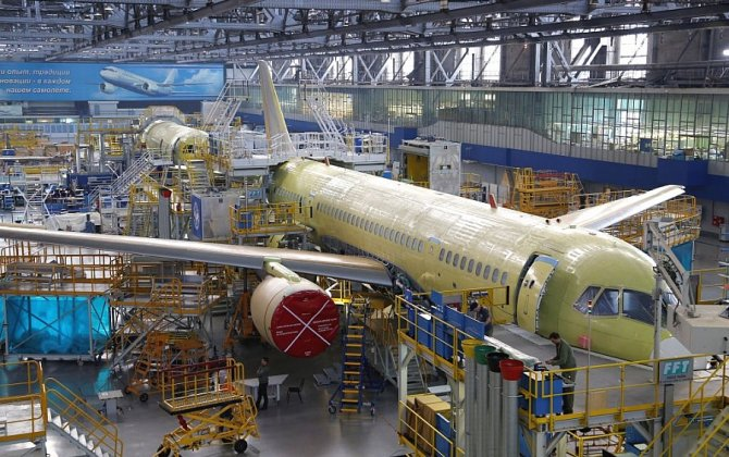 Irkut completed the construction of the second MC-21-300 aircraft
