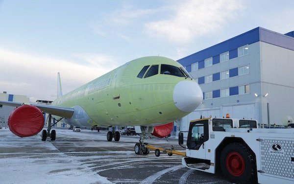 Irkut Corporation completed construction of the MS-21-310, which will undergo flight tests with Russian PD-14 engines