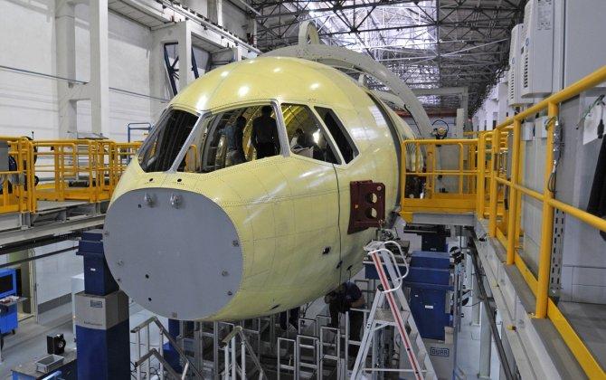 Irkut Corporation delivered MC-21 fuselage to TsAGI for static tests